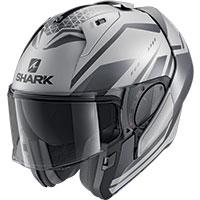 Shark Evo Es Yari Mat Modular Helmet Silver