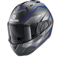 Shark Evo Es Yari Mat Modular Helmet Blue
