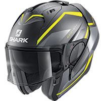 Shark Evo Es Yari Mat Modular Helmet Yellow