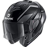 Shark Evo Es Yari Mat Modular Helmet Black