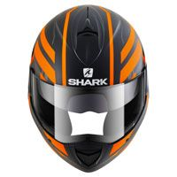 Shark Evoline Serie 3 Corvus Matt Black Orange