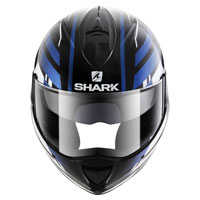 Shark Evoline Serie 3 Corvus Black White Blue
