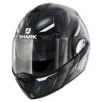 Shark Evoline Serie 3 Shazer Black White