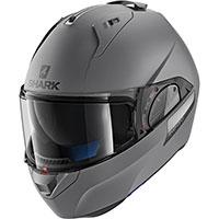 Shark Evo-one 2 Blank Mat Helmet Anthracite