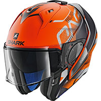 Shark Evo One 2 Keenser Mat Modular Helmet Orange