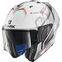 Casco Modular Shark Evo One 2 Keenser blanco