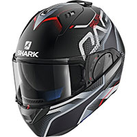 Casco Modulare Shark Evo One 2 Keenser Mat Nero