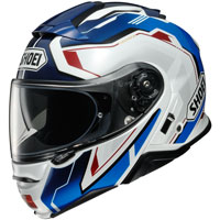 Shoei Neotec 2 Respect TC-10 azul blanco