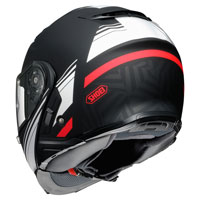 Shoei Neotec 2 Separator Tc5 Matt Black White Red