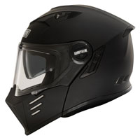 Casco Modulare Simpson Darksome Nero Opaco