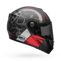 Helmet Bell Str-modular Hart-luck White Red Charcoal