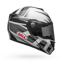 Helmet Bell Srt-modular Gloss Black And White