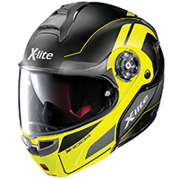 X-lite X-1004 Charismatic N-com Flat Black Yellow