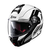 X-lite X-1004 Charismatic N-com Modular Helmet White Black