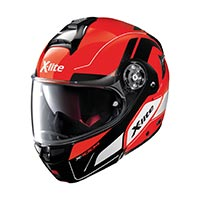 X-lite X-1004 Charismatic N-com Modular Helmet Corsa Red