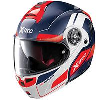 X-lite X-1004 Charismatic N-com Modular Helmet Imperator Blue