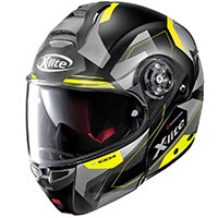 X-lite X-1004 Dedalon N-com Yellow Flat Black