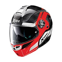 X-lite X-1004 Ultra Carbon Charismatic N-com Black Red