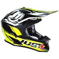 Just-1 J32 Pro Rave Neon Giallo Nero