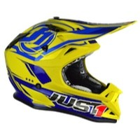 Just-1 J32 Pro Rave Blue Yellow