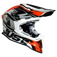 Just-1 J12 Carbon Dominator White Red