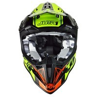 Just-1 J12 Dominator Neon Lime Rosso