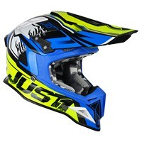 Just-1 J12 Dominator Giallo Blu Neon