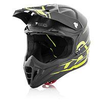 Acerbis Carbon Helmet Nero Opaco/giallo Fluo