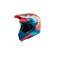 Acerbis Impact 3.0 White Blue Helmet 2018