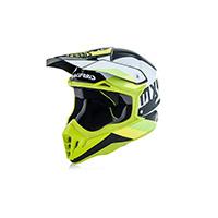 Acerbis Impact 3.0 Fluo Yellow White Helmet 2018