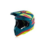 Acerbis Impact 3.0 Fluo Yellow Red Helmet 2018