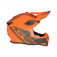 Acerbis Linear Helmet Orange White