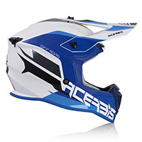 Acerbis Linear Helmet White Blue