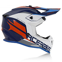 Acerbis Linear Helmet Blue White