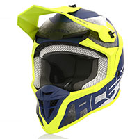 Acerbis Linear Helmet Yellow Blue