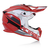Acerbis Linear Helmet Red White