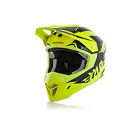 Acerbis Profile 4 Fluo Yellow Black 2018 Helmet