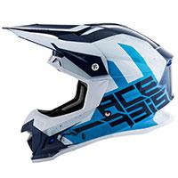 アソルビス プロフィール 4 ヘルメット ブルー ホワイト