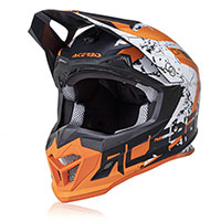 Acerbis Profile 4 Helmet Orange White