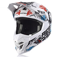 Acerbis Profile 4 Helmet White Blue Red