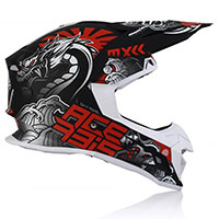 Acerbis Profile 4 Helmet Black Grey