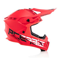 Caso Cross Acerbis Steel Carbon Rosso