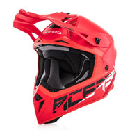Acerbis Offroad Helmet Steel Carbon Red