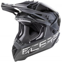 Casco Cross Acerbis Steel Carbon Nero