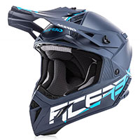 Casco Acerbis Steel Carbon Blu