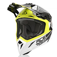 Acerbis Steel Carbon Helmet Black Yellow