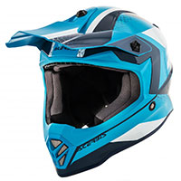 Acerbis Steel Junior Helmet Blue White Kid
