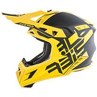 アセルビス X-Pro VTR ヘルメット ブラック イエロー