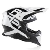 Casque Moto Cross Acerbis Impact X Racer Vtr Blanc