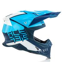 オフロードヘルメット Acerbis インパクト X レーサー Vtr ブルー